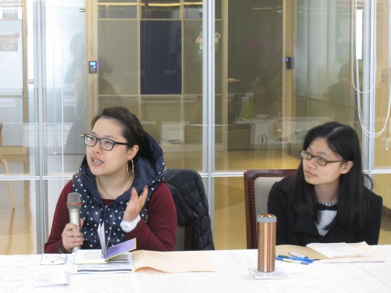 12/21(六)文化創意產業研習課程 學員踴躍發言